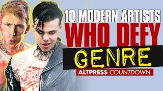 top 10 Artists Who Defy Musical Genre–From MGK To Yungblud