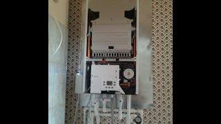 BAXI MAIN Four газовый котёл. установка комнатного терморегулятора.(BAXI ремонт котла, протечка, падало давление. установка комнатного терморегулятора, тактование газового..., 2014-07-17T17:22:05.000Z)