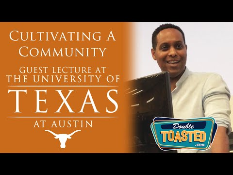 Cultivating a Community: Guest Lecturer Korey Coleman at UT!