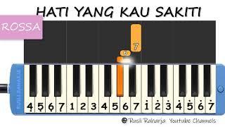 Download lagu Rossa Hati yang kau sakiti not pianika