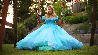 Cinderella 2015 Photoshoot Behind the Scenes