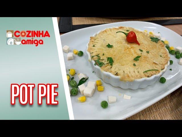Aprenda a fazer Pot Pie + 2 recheios diferentes - Gabriel Barone | Cozinha Amiga (18/01/19)