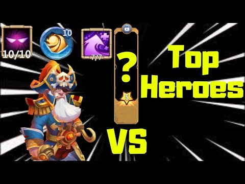 Dread Drake | 10 Unholy Pact | 10 Sacred Light | 7 Hyper Strength | Vs Top Heroes | Castle Clash