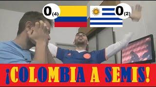 Colombia vs Uruguay | Reacción de Hinchas de Colombia y Uruguay | Copa América