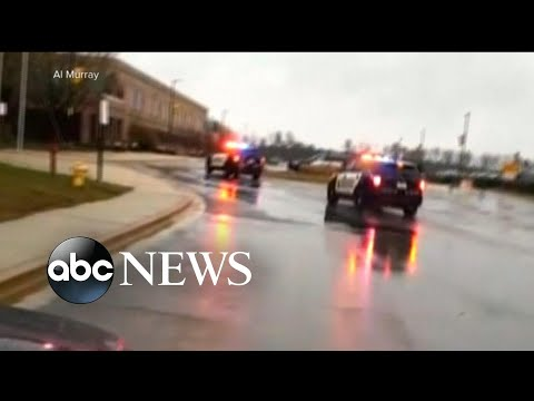 Maryland police are releasing calls for help from Great Mills High school