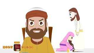 Judas Plans To Betray I Stories of Jesus I  Children's Bible Stories | Holy Tales  Bible Stories