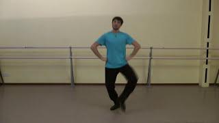 Комбинация веревочки с перескоком в Русском танце. Сампляс®