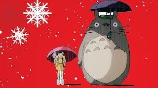 지브리 ost 모음 🌹 지브리와 크리스마스 음악 컬렉션 | Ghibli Studio Christmas Songs Collection BGM | Merry Chritsmas BGM