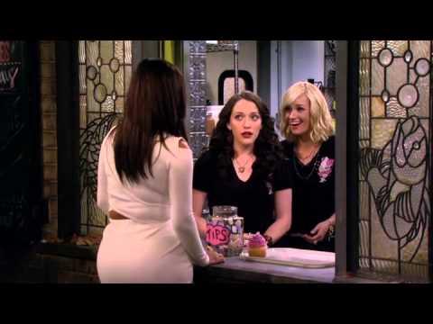 2 Broke Girls season 4 Premiere Caroline's new haircut and Kim visit the shop