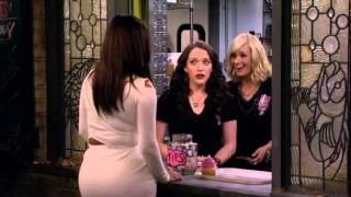 2 Broke Girls season 4 Premiere Caroline's new haircut and Kim visit the shop
