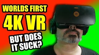 Worlds First 4K VR - HALF PRICE of a HTC VIVE