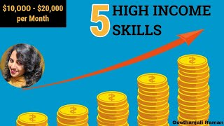 What are High Income Skills? Top 5 skills that will make you rich