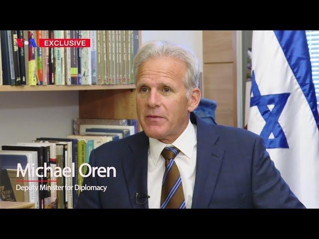 VOA Persian Exclusive Interview: Michael Oren