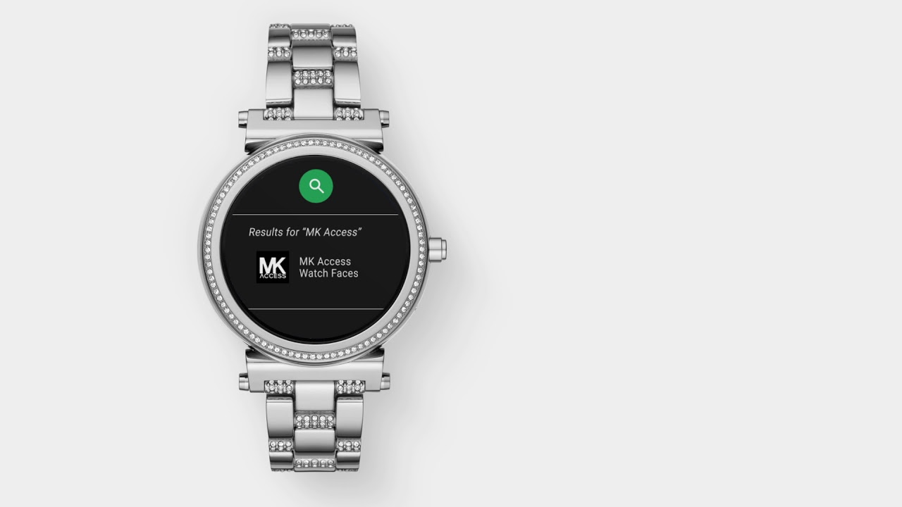 Michael Kors Access Sofie Smartwatch | Using Custom Watch Faces .