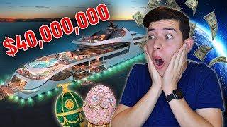 למי שייכת סירת היוקרה שעולה 40,000,000$??