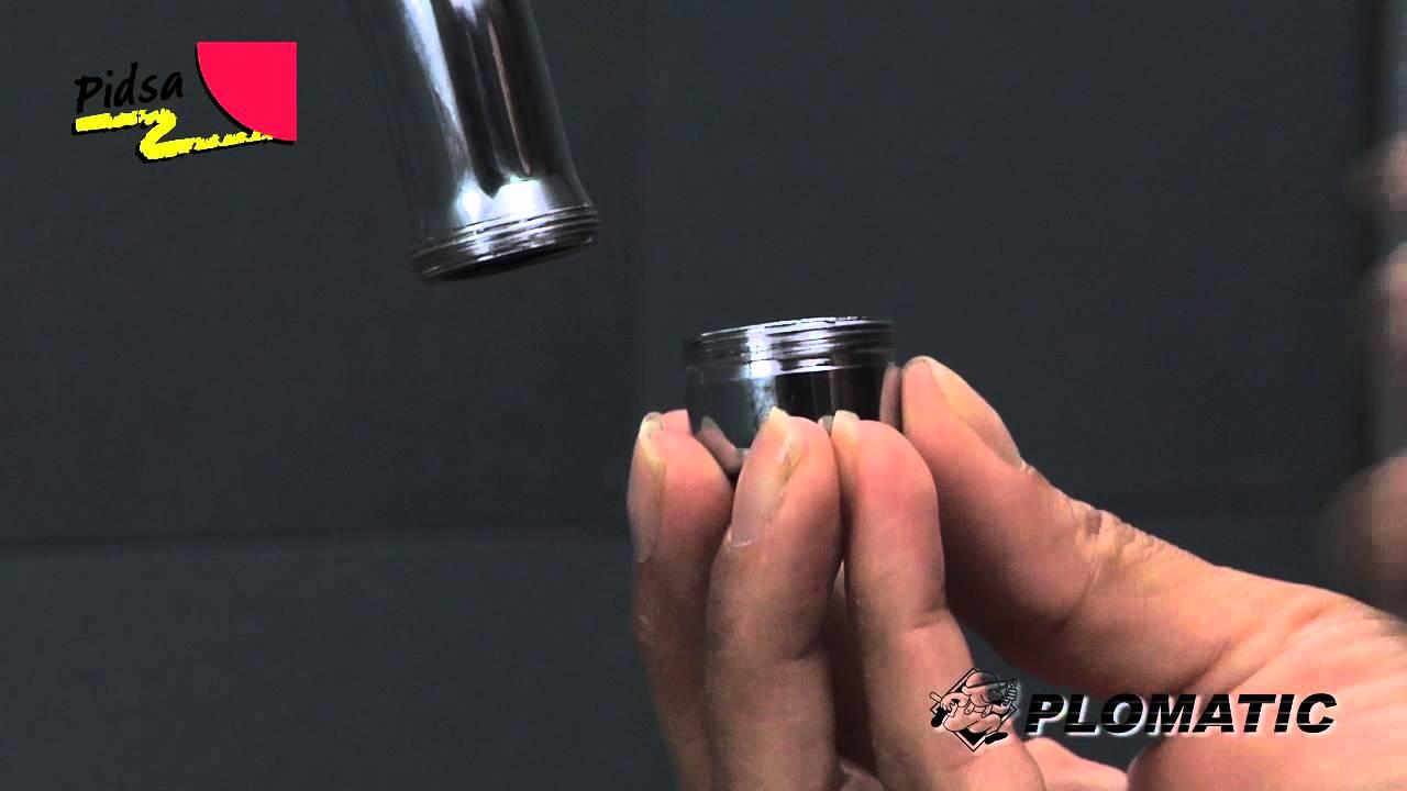 C mo instalar el aireador universal rosca interna y for Llaves para fregadero