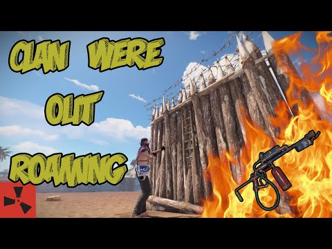 RAIDING a CLAN when they were OUT - BASE EXPLOITING // RUST thumbnail