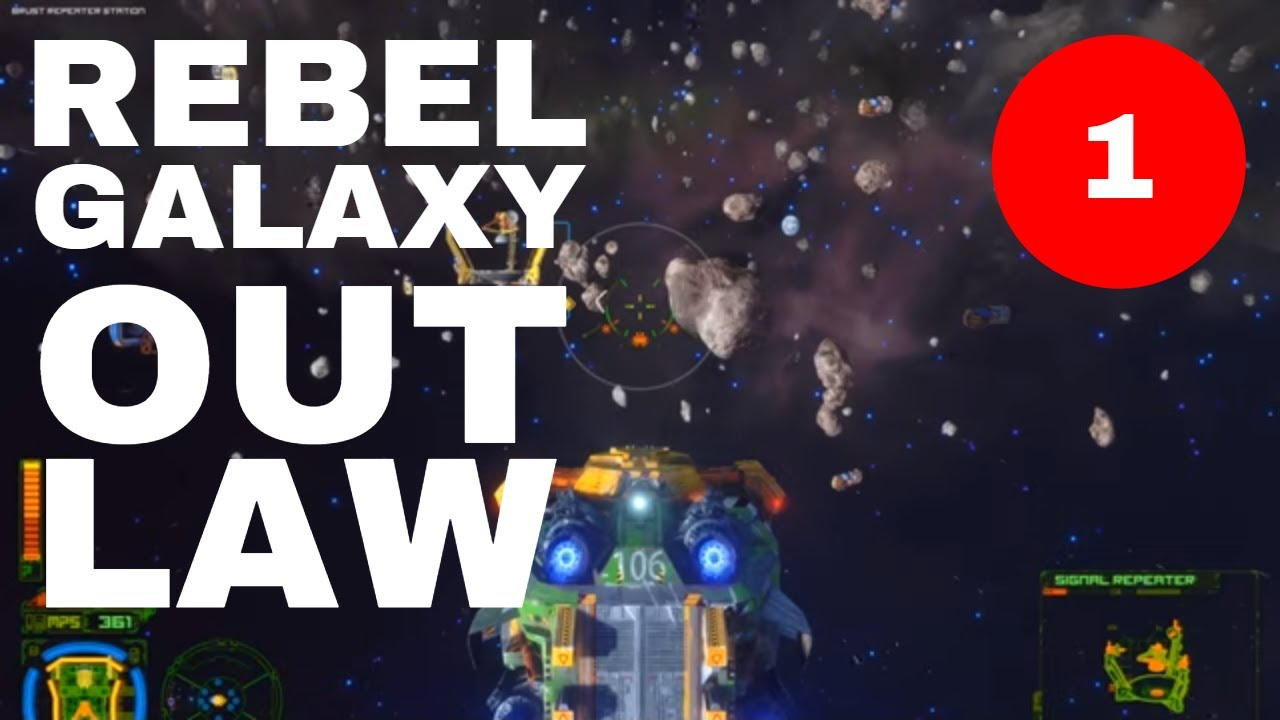 Rebel Galaxy Outlaw E01 - Firefly, Freelancer or Privateer? Yes!