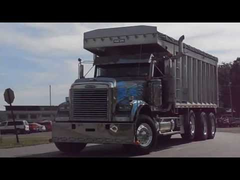 7th Annual Big Rig Show and Expo Clearfield Pa Make-A-Wish Convoy 9713