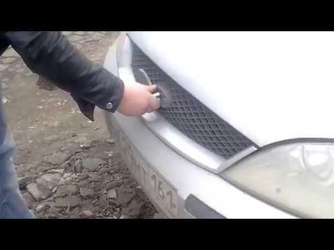 Как открыть форд транзит без ключа видео