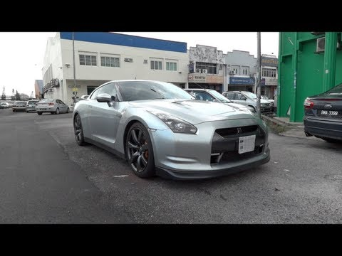 2008 Nissan GT-R Start-Up and Full Vehicle Tour