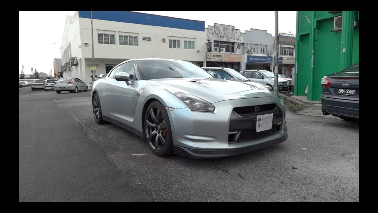 2008 nissan gt-r start-up and full vehicle tour - youtube