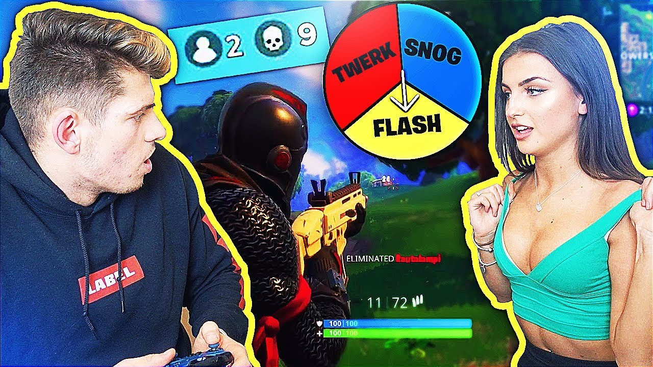 1 KILL = 1 S3XUAL DARE WITH MY GIRLFRIEND (Fortnite Battle Royale)