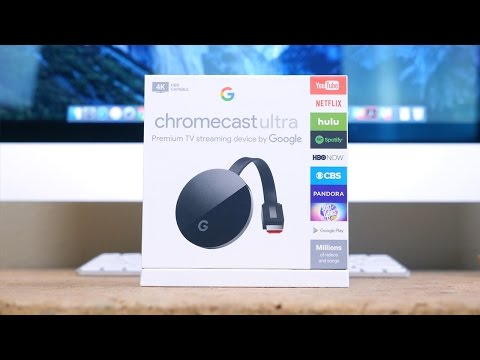 Chromecast Ultra Unboxing, Setup and Demo with Google Home