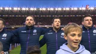 Flower Of Scotland - Vs England (6 Nations At Murrayfield 06/02/2016)