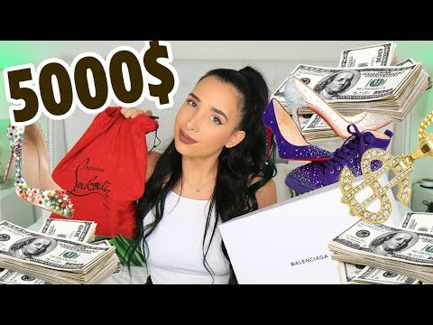 I SPENT $5000 IN UGLY SNEAKERS - BALENCIAGA, YEEZY, LOUBOUTIN AND MORE! LUXURY SHOE HAUL | Mar