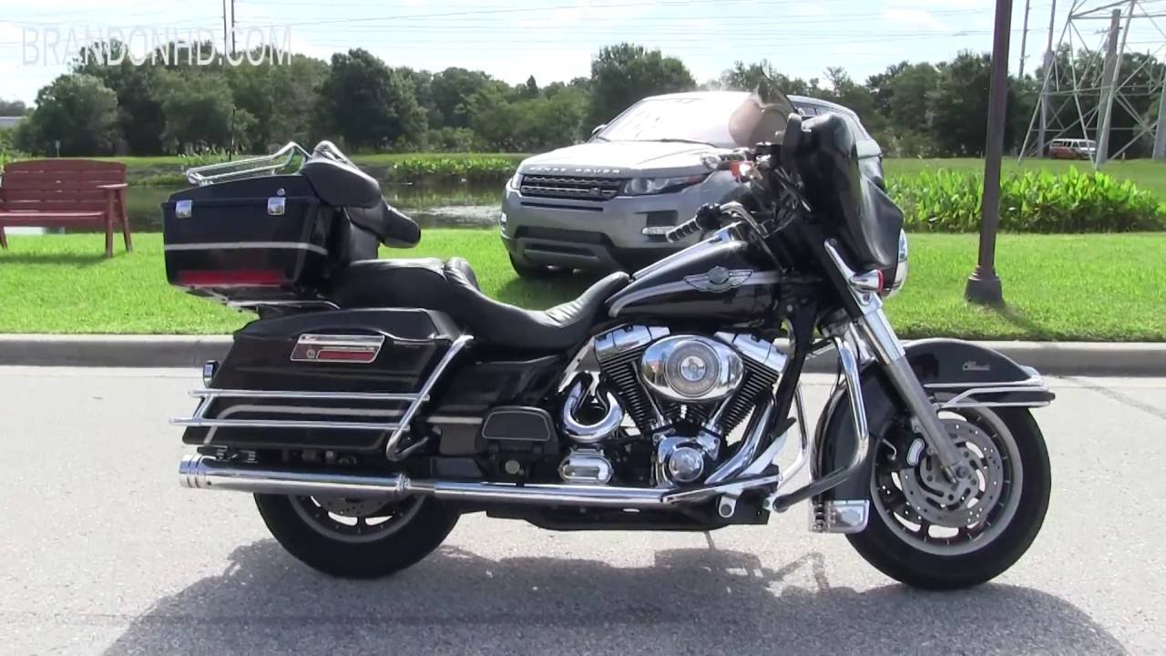 2003 Harley Davidson 100th Anniversary Touring Motorcycle for sale