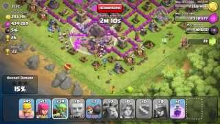 Clash of Clans - Amazing 883k Raid With 3 Rage Spells!!! I Must Be #Dreaming (One of The BEST Raids)