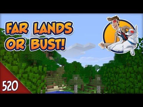 Minecraft Far Lands or Bust - #520 - Oil vs. Wax: The Beard Debate