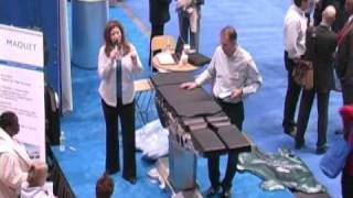 Maquet MAGNUS Surgical Table Demonstration at AORN 2009 by Trade Show Presenter Emilie Barta