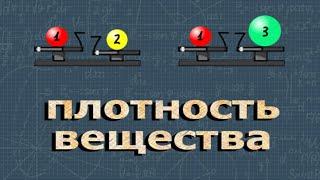 ФИЗИКА ОГЭ 5 задание разбор ПЛОТНОСТЬ ВЕЩЕСТВА