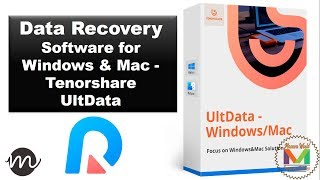 Data Recovery Software for Windows & Mac - Tenorshare UltData ||#MaawaWorld||