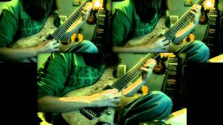 Trivium - Caustic Are the Ties That Bind solo (cover)