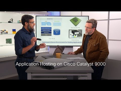 Application Hosting On Cisco Catalyst 9000 Switches On TechWiseTV