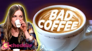 "How ""Bad"" Coffee Took Over America - Cheddar Explains"