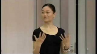 Miyako Yoshida teaches variation from Sleeping Beauty ACT3. Sep 2009.