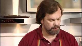 Мужская Еда - 136 - Тушеная  курица с грибами и луком