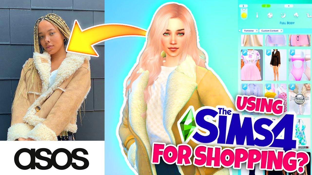 Buying REAL clothes based on the Sims 4...? 🛍