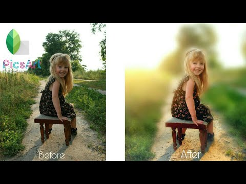 How To Blur Background In Picsart Outdoor Portrait Edit Tutorial Youtube