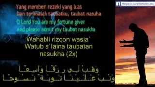 2015 Qasidah Istighfar Taubatan Nasuha Doa Zikir (SOLO tanpa MUZIK)