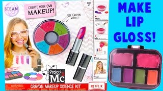 Project MC2 Crayon Makeup Science Kit - DIY Make Your Own Lip Gloss!