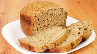 Хлеб грибной с чесноком - выпекаем хлеб в в хлебопечке / Bread machine mushroom garlic bread