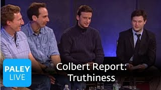 Colbert Report Writers - Truthiness and Pun Journals