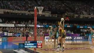 anz netball 2010 final thunderbirds vs magic qtr 4 part 1