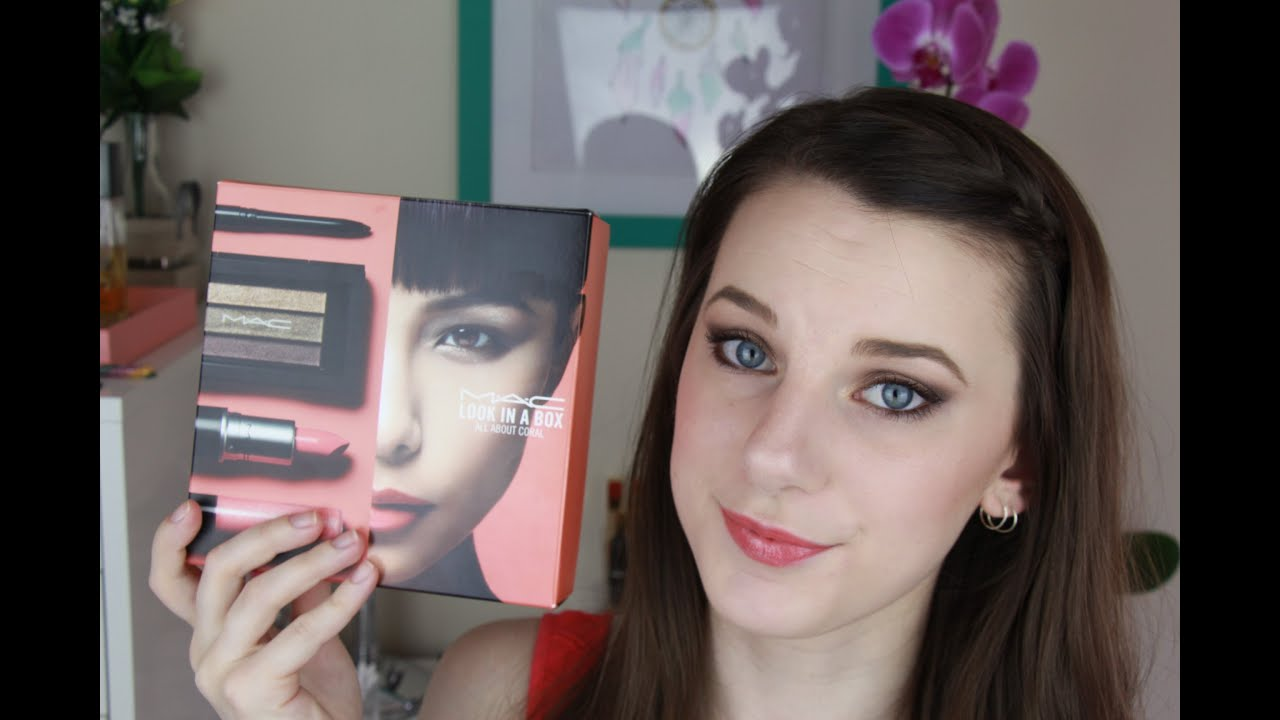 Mac look in a box all about coral holiday makeup tutorial mac look in a box all about coral holiday makeup tutorial baditri Gallery