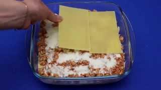 рецепт приготовления мясной лазаньи в микроволновой печи VITEK VT-1654 W